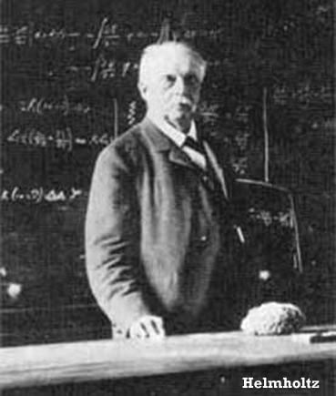Helmholtz at work