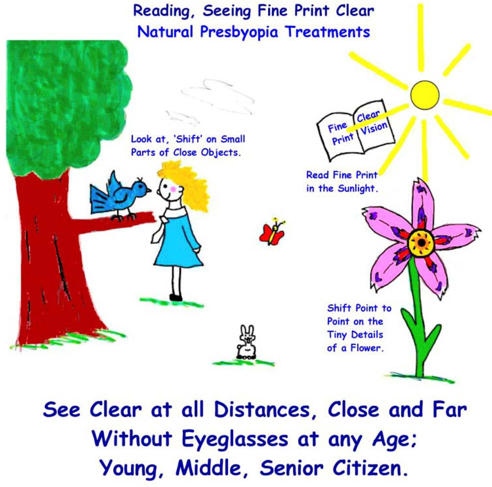 Clear Close, Reading Vision - Farsight Cure