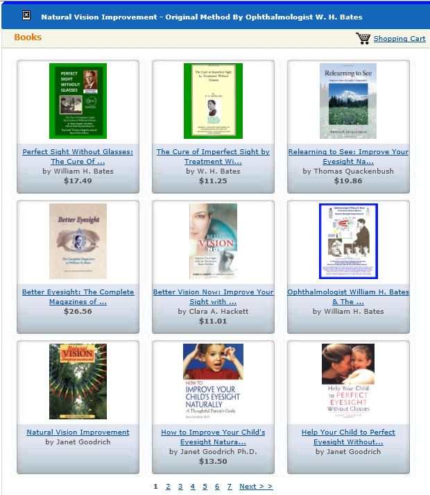 Books by a Variety of Bates Method Teachers