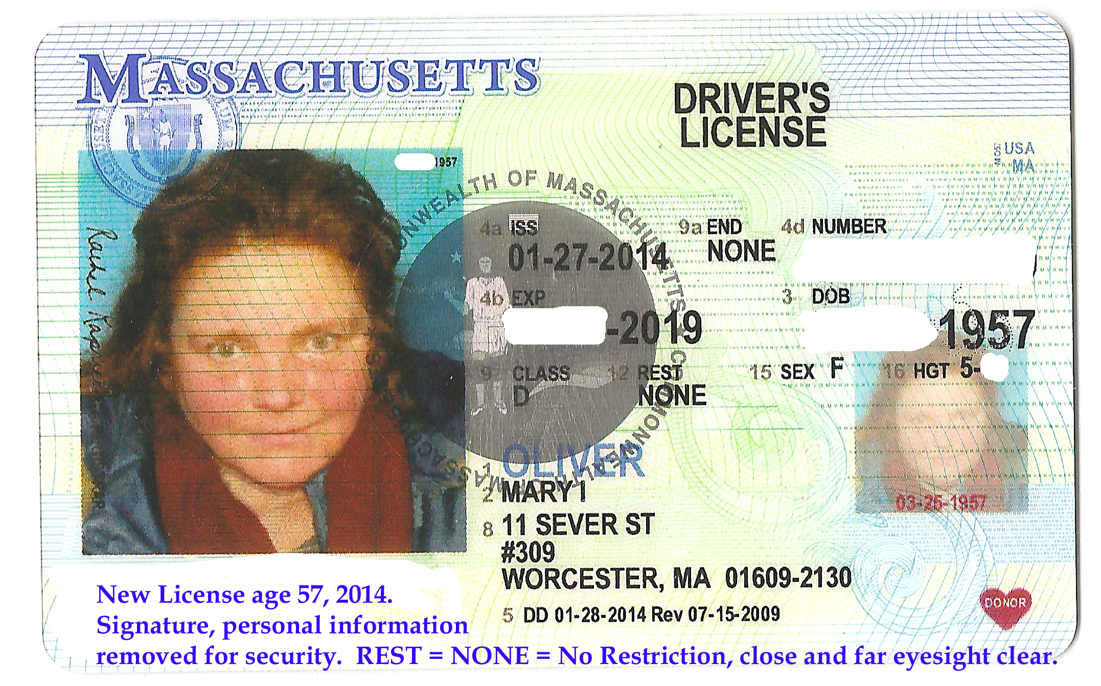 New License Jan, 2014