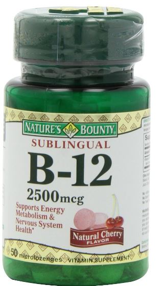 B-12 For Healthy Nerves, Optic Nerve