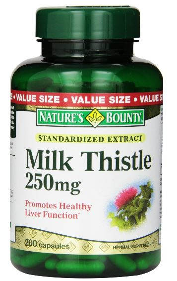Milk Thistle For Healthy Liver, Eyes